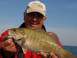 Tony Puccio fishing pro, guide and radio talk show host.